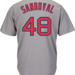 Pablo Sandoval Jersey – Boston Red Sox Replica Adult Road Jersey