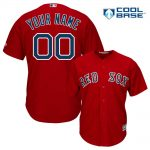 Boston Red Sox Replica Personalized Red Jersey