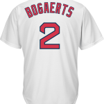 Xander Bogaerts Jersey – Boston Red Sox Replica Adult Home Jersey