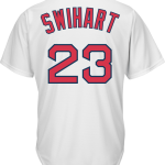 Blake Swihart Jersey – Boston Red Sox Replica Adult Home Jersey