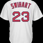 Blake Swihart Jersey – Boston Red Sox Replica Adult Home Jersey