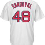 Pablo Sandoval Boston Red Sox Replica Adult Home Jersey