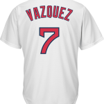 Christian Vazquez Youth Jersey – Boston Red Sox Replica Kids Home Jersey