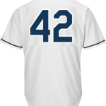 Jackie Robinson Day 42 Jersey – Tampa Bay Rays Replica Adult Home Jersey