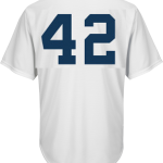 Jackie Robinson Day 42 Jersey – Detroit Tigers Replica Adult Home Jersey