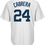 Miguel Cabrera Detroit Tigers Replica Adult Home Jersey