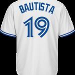 Jose Bautista Toronto Blue Jays Replica Adult Home Jersey