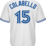Chris Colabello Jersey – Toronto Blue Jays Replica Adult Home Jersey