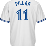 Kevin Pillar Youth Jersey – Toronto Blue Jays Replica Kids Home Jersey