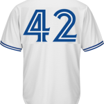 Jackie Robinson Day 42 Jersey – Toronto Blue Jays Replica Adult Home Jersey