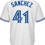 Aaron Sanchez Jersey – Toronto Blue Jays Replica Adult Home Jersey