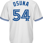 Roberto Osuna Jersey – Toronto Blue Jays Replica Adult Home Jersey