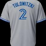 Troy Tulowitzki Jersey – Toronto Blue Jays Replica Adult Road Jersey