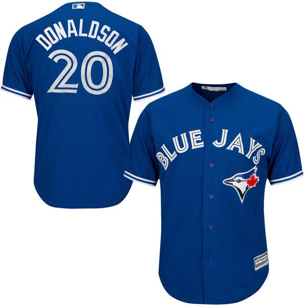 competitive price fb601 d83e4 Josh Donaldson Jersey – Toronto Blue Jays Replica Adult ...