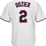 Brian Dozier Youth Jersey – Minnesota Twins Replica Kids Home Jersey