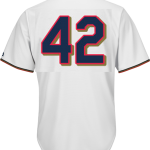 Jackie Robinson Day 42 Youth Jersey – Minnesota Twins Replica Kids Home Jersey