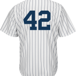 Jackie Robinson Day 42 Jersey – NY Yankees Replica Adult Home Jersey