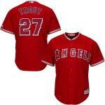Mike Trout Jersey – LA Angels Replica Adult Red Alt Jersey