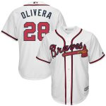 Hector Olivera Youth Jersey – Atlanta Braves Replica Kids Home Jersey