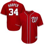 Bryce Harper Jersey – Washington Nationals Replica Adult Red Alt Jersey