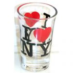 I Love NY Tall Shot Glass