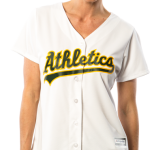 Oakland A'S Replica Ladies Home Jersey