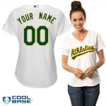 Oakland Athletics Replica Personalized Ladies Home Jersey