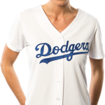 La Dodgers Replica Ladies Home Jersey