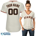 San Francisco Giants Replica Personalized Ladies Home Jersey