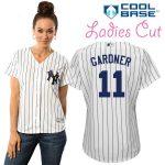 Brett Gardner NY Yankees Replica Ladies Home Jersey