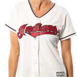Cleveland Indians Replica Ladies Home Jersey