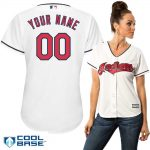 Cleveland Indians Replica Personalized Ladies Home Jersey
