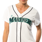 Seattle Mariners Replica Ladies Home Jersey