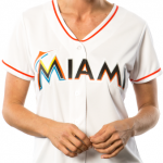 Miami Marlins Replica Ladies Home Jersey