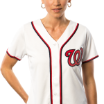 Washington Nationals Replica Ladies Home Jersey