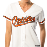 Baltimore Orioles Replica Ladies Home Jersey
