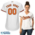 Baltimore Orioles Replica Personalized Ladies Home Jersey