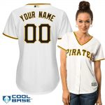 Pittsburgh Pirates Replica Personalized Ladies Home Jersey