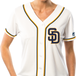 San Diego Padres Replica Ladies Home Jersey