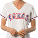 Texas Rangers Replica Ladies Home Jersey