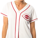Cincinnati Reds Replica Ladies Home Jersey