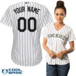 Colorado Rockies Replica Personalized Ladies Home Jersey