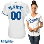 Kansas City Royals Replica Personalized Ladies Home Jersey