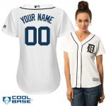 Detroit Tigers Replica Personalized Ladies Home Jersey