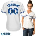 Toronto Blue Jays Replica Personalized Ladies Home Jersey