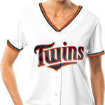 Minnesota Twins Replica Ladies Home Jersey