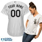 Chicago White Sox Replica Personalized Ladies Home Jersey