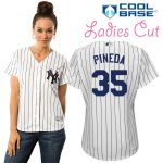 Michael Pineda NY Yankees Replica Ladies Home Jersey