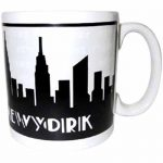 NYC Grey Skyline 20oz Mug