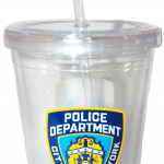 NYPD Clear Tumbler